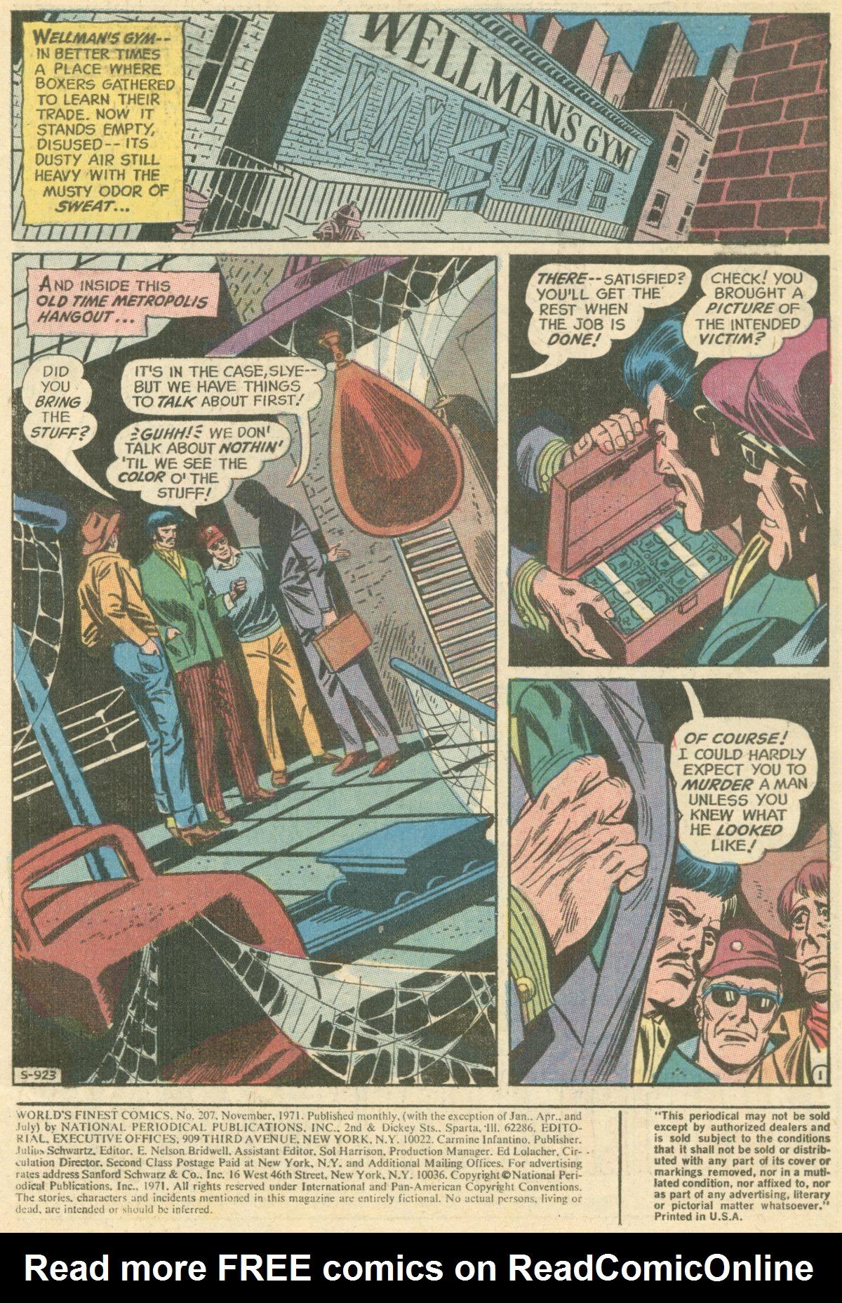 Read online World's Finest Comics comic -  Issue #207 - 3