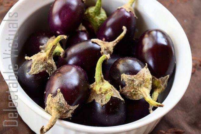Stuffed Baby Eggplant