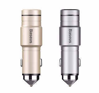 Baseus Wireless Earphone Car Charger