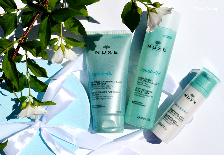 NUXE Aquabella - rytuał pielęgnacyjny dla cery mieszanej