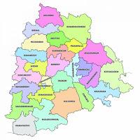 Telangana  State Districts Web Portals