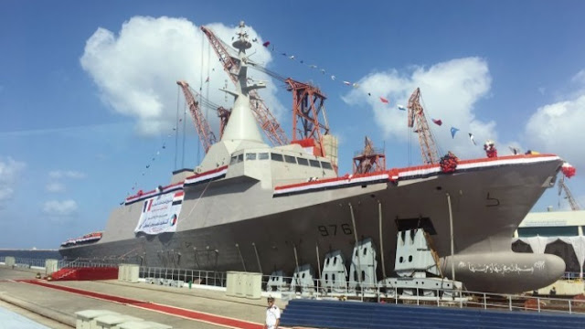 Image Attribute: ENS Port Said at the Launch, Date: September 6, 2018, / Source: IHS Jane's