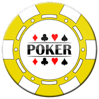yellow poker chip