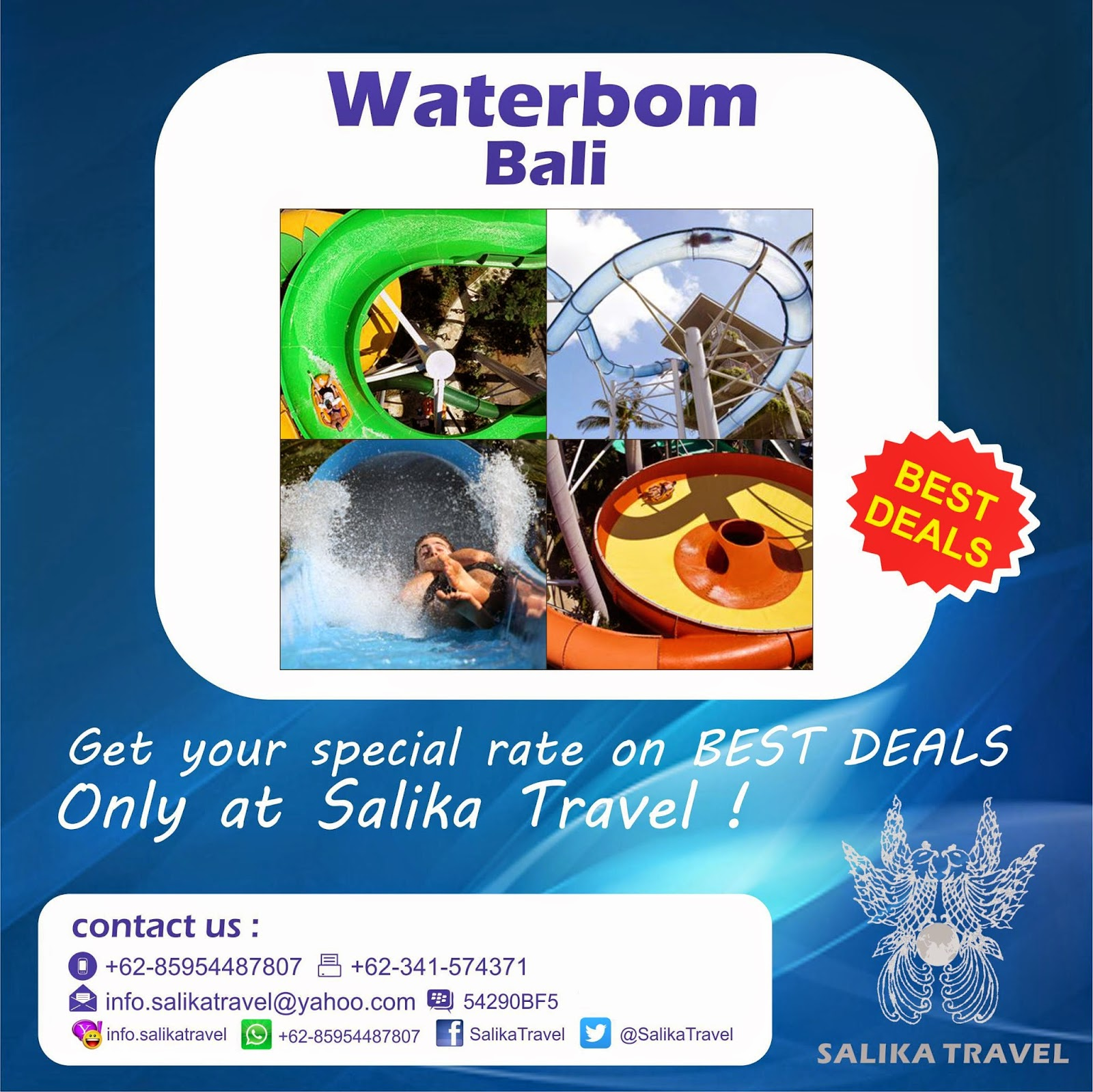 Waterboom Bali - Salika Travel