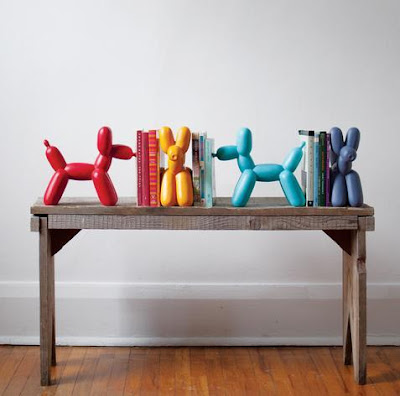 Balloon Dog Bookends