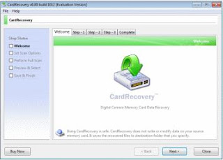 memory card recovery tool