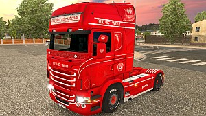 Scania RJL Red Wolf