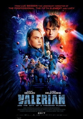 Trailer Film Valerian and the City of a Thousand Planets 2017