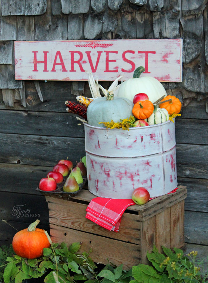 Adventures In Decorating Our 2015 Fall Kitchen: Kitchen Fun & Crafty Friday Link Party #187