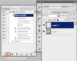 Fungsi dan Cara Menggunakan Action Photoshop