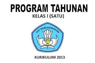 program tahunan k-13 untuk sd kelas 1