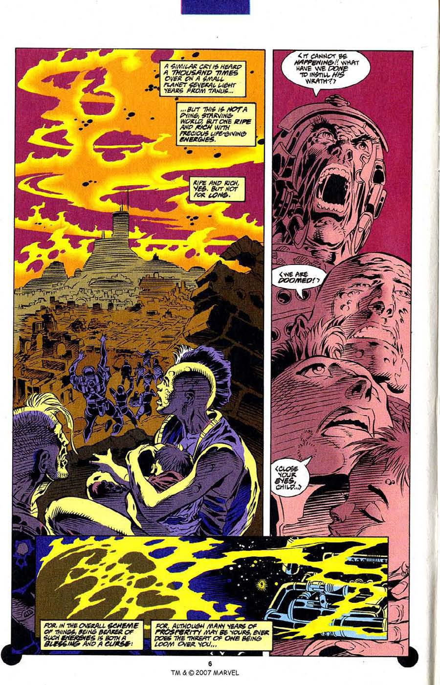 Read online Silver Surfer (1987) comic -  Issue #106 - 8