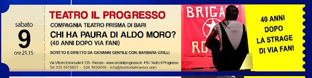 Teatro Civile al Progresso @ Il Progresso | Firenze | Toscana | Italia