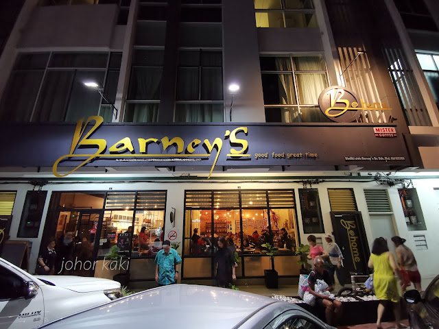 Barney's Good Food Great Time in Kluang Johor