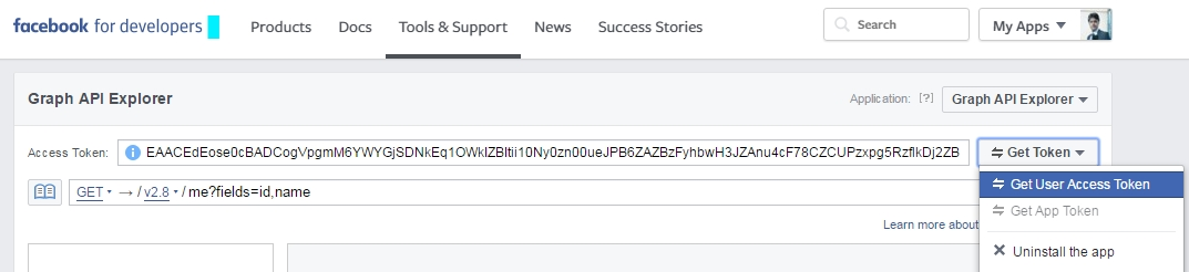 Post to Facebook Page Wall using restfb Graph API in ADF & Java