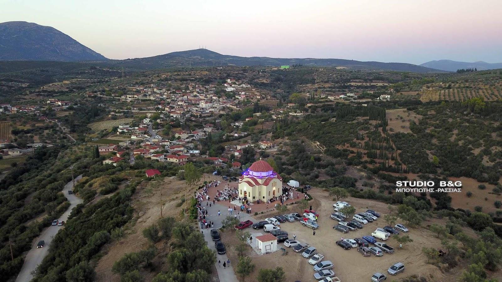 Η εορτή της Παναγίας της Μυρτιδιώτισσας στο Μαλαντρένι Αργολίδος