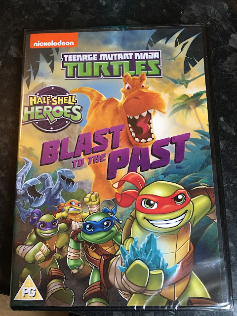 New DVD release, Teenage Mutant Ninja Turtles, Blast To The Past competition