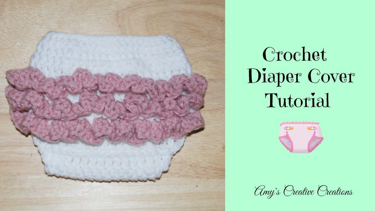Amy\'s Crochet Creative Creations: Croche Baby Ruffle Diaper Cover ...