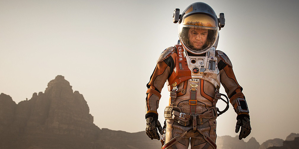 "Del director Ridely Scott: ""The Martian"", trailer"
