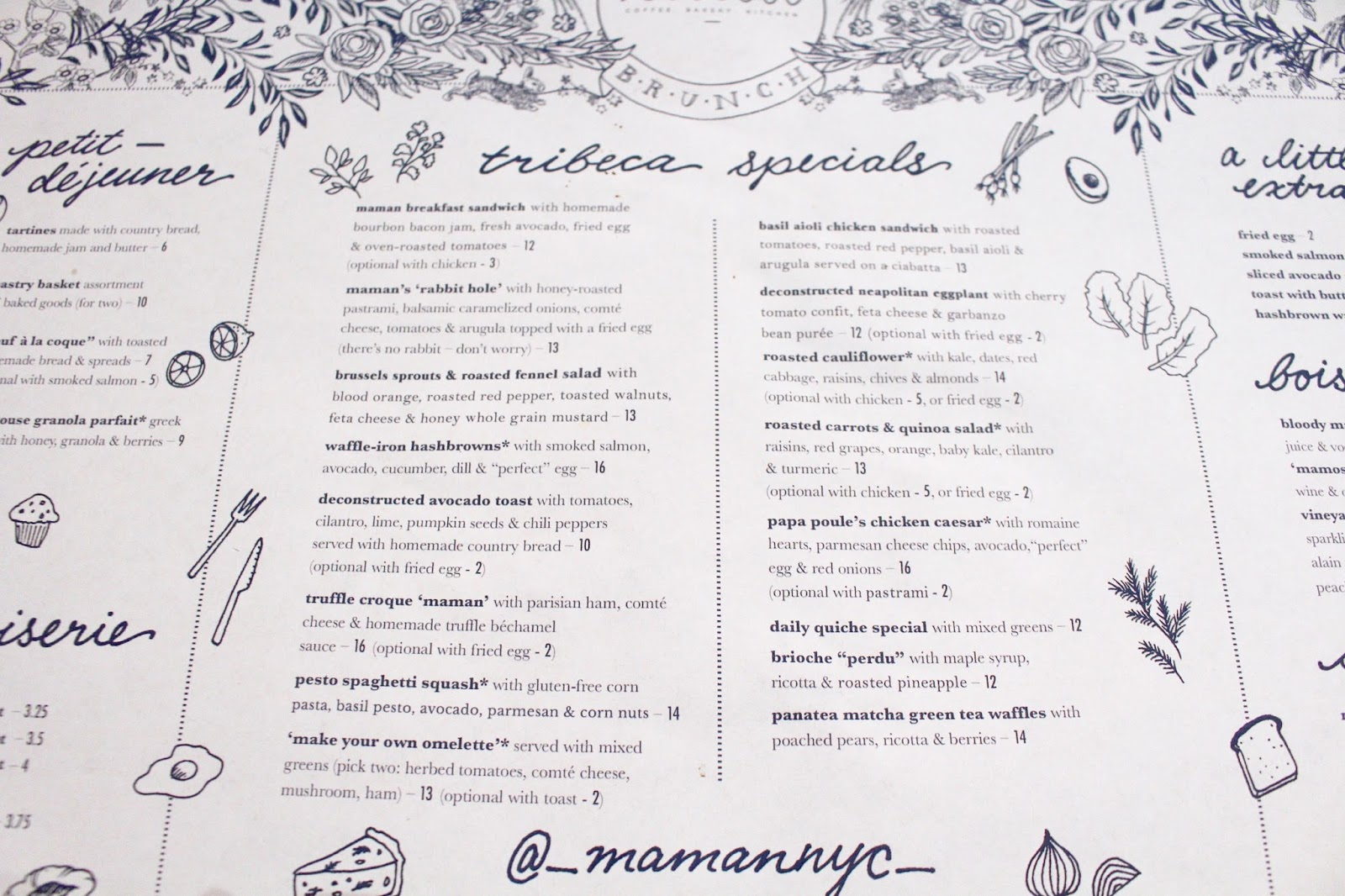 Maman Brunch | Tribeca