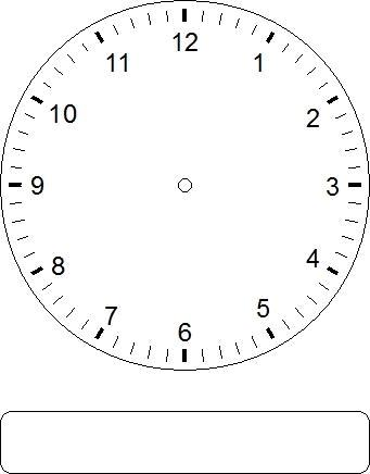 Homeschool Parent: Telling Time Practice Clocks