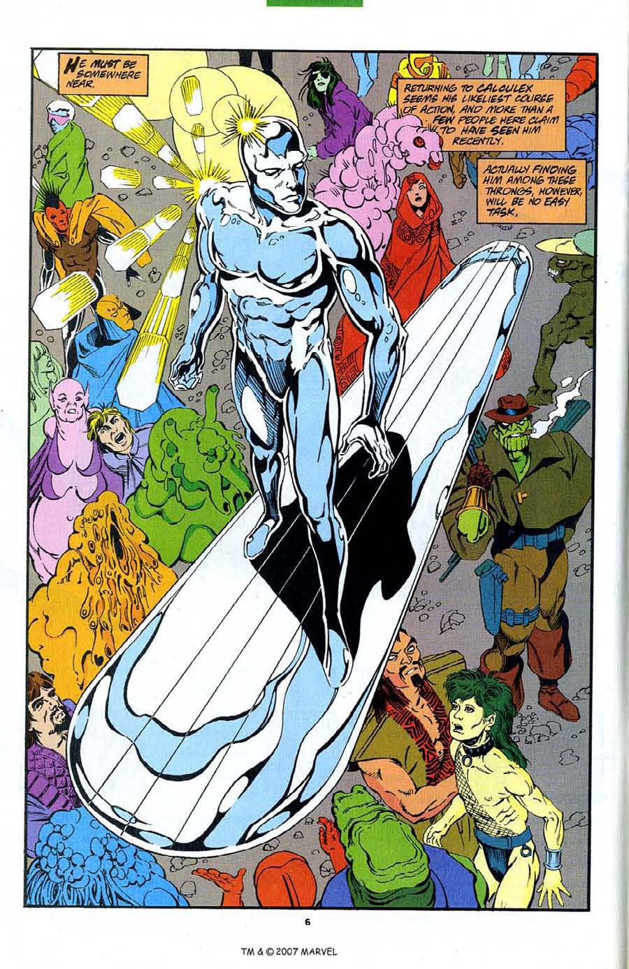 Read online Silver Surfer (1987) comic -  Issue #89 - 8