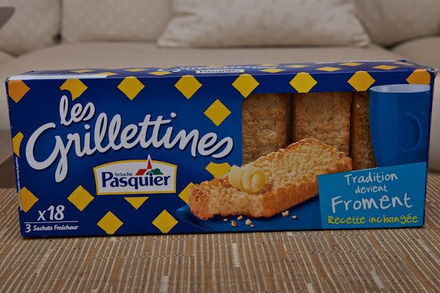 Grillettine Froment Brioche Pasquier