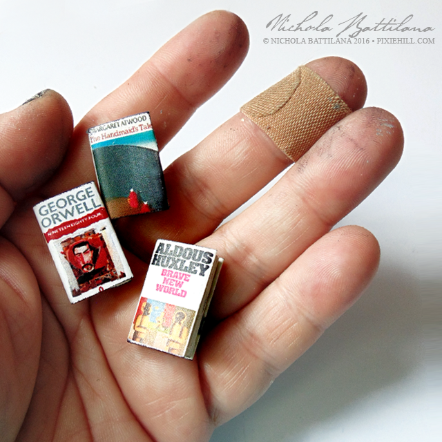 Miniature favourite books - Nichola Battilana