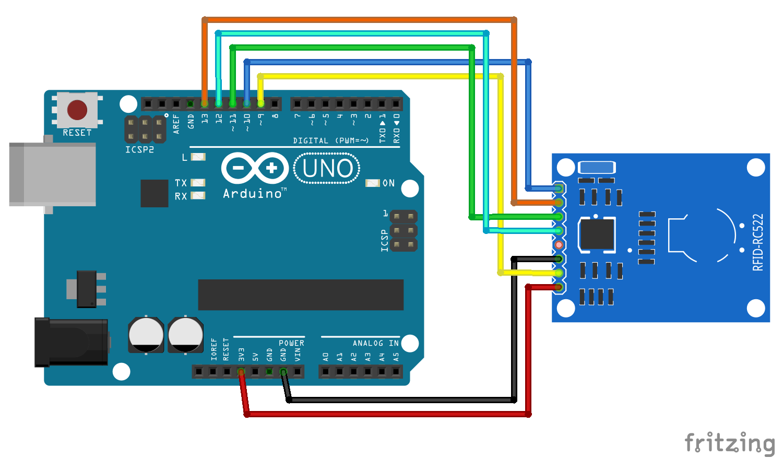 Arduino-er: Arduino Uno + RFID-RC522, MFRC522 library example DumpInfo