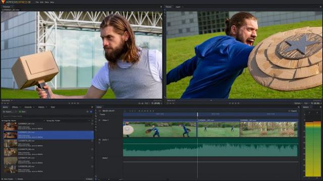 aplikasi Hitfilm Express editing video paling bagus