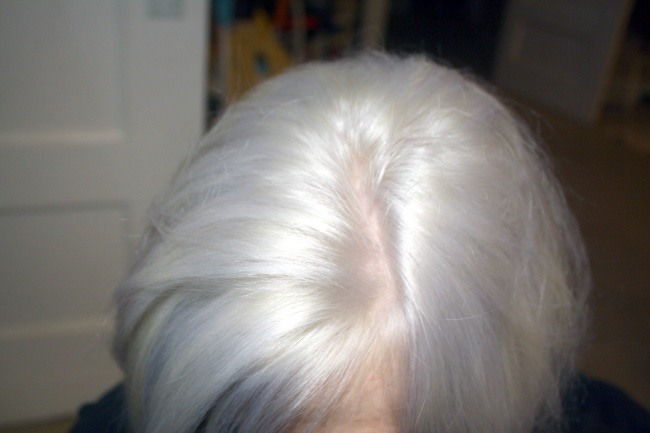Here S My Roots After Drying You Can See Little Frizzies Sticking Out But They Really Aren T That Bad For Someone Who Has Been Bleaching 5