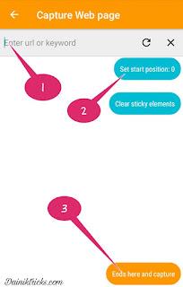 How to take a long screenshot of webpage