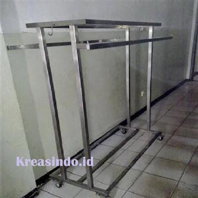 Jasa Pembuatan Gantungan Baju Bahan Stainless dan Besi di seluruh Jabodetabek