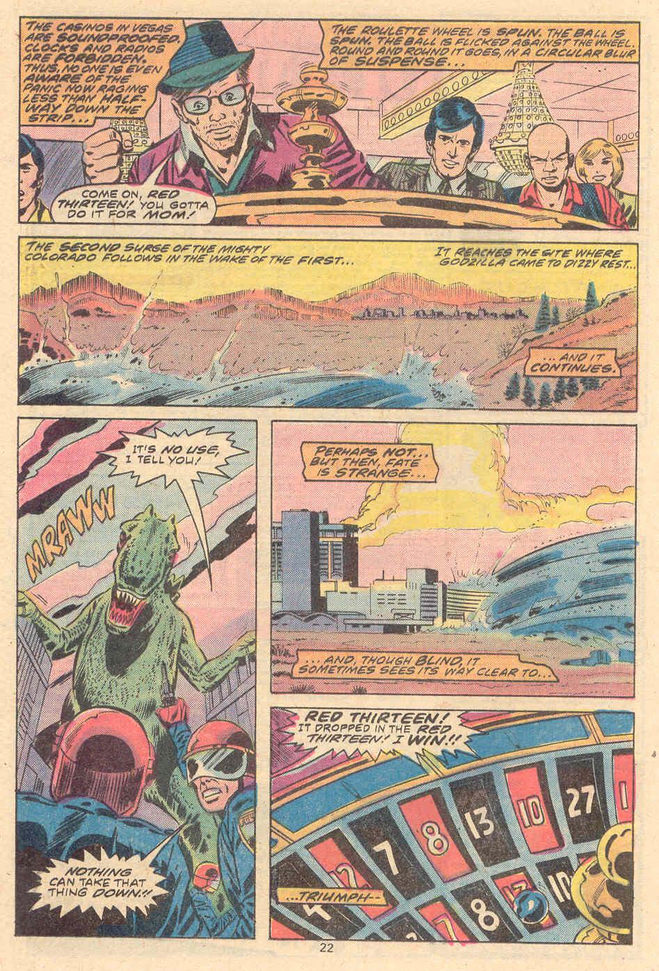 Godzilla (1977) Issue #9 #9 - English 13