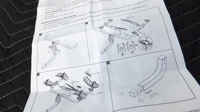 Swagman Sitkka 2 Zero Frame Contact Fatbike Rack Review Instructions
