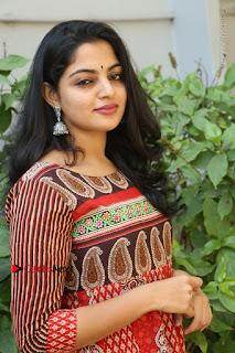 Telugu Actress Nikhila Vimal Latest Stills in Anarkali Dress  0144.JPG