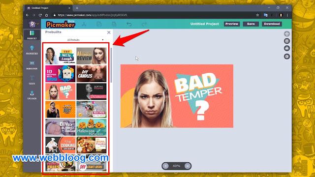 إنشاء صور مصغرة (YouTube Thumbnail) إحترافية مجانا وبسهولة - S5