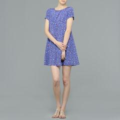Aspesi floral a-line dress