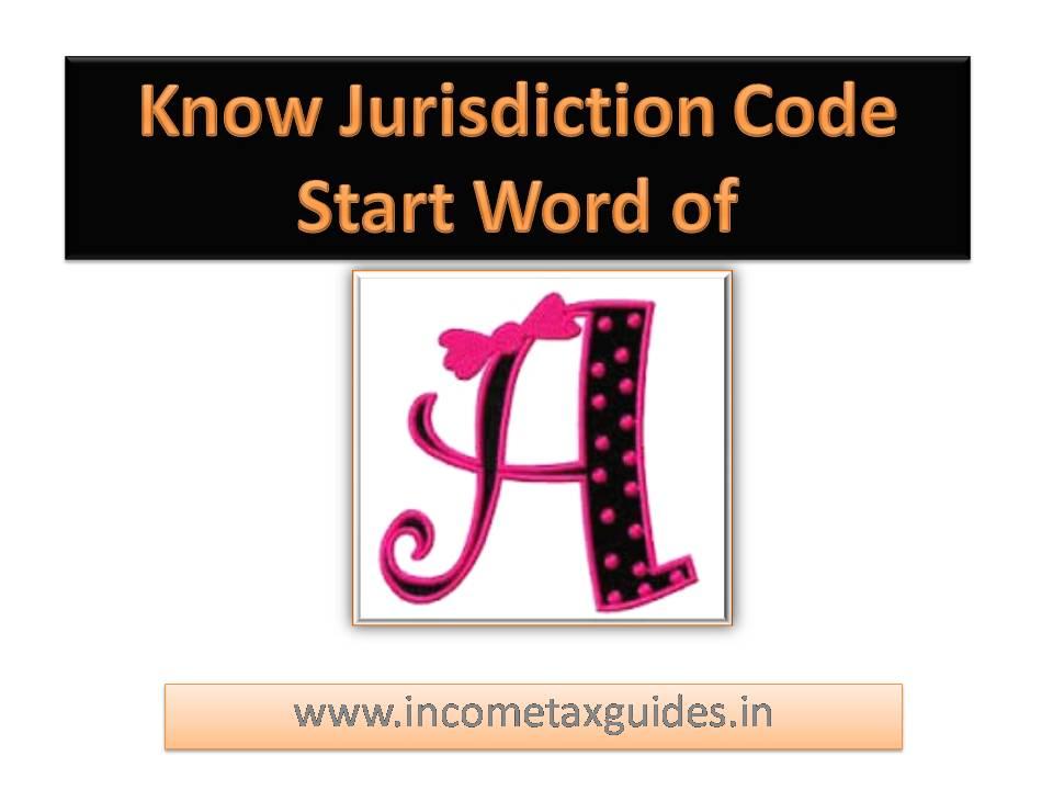 A Alphabet Jurisdiction Code Income Tax Aocode Ward Circle In