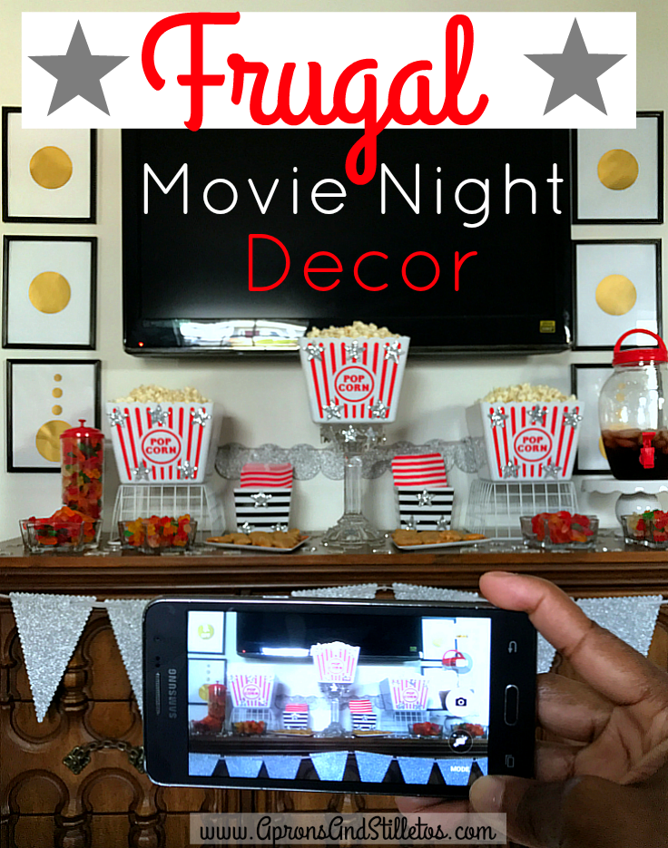Frugal Movie Night Decor #ad #YourTaxCash