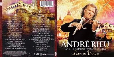 Andre Rieu Love In Venice CD 2014