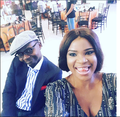 TV Presenter, Teju Baby-Face And Wife At Bucknor Funke's 40th Birthday