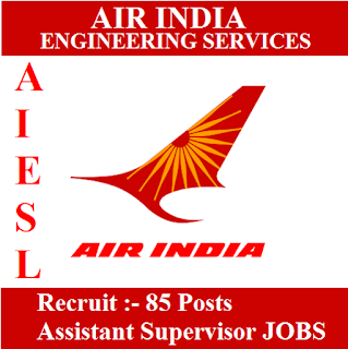 Air India Engineering Service Limited, AIESL, Air India Limited, Air India, Assistant Supervisor, Graduation, Delhi, freejobalert, Sarkari Naukri, Latest Jobs, aiesl logo
