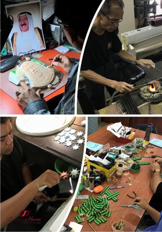 malaysia tourism perak mariwasa kraftangan factory visit