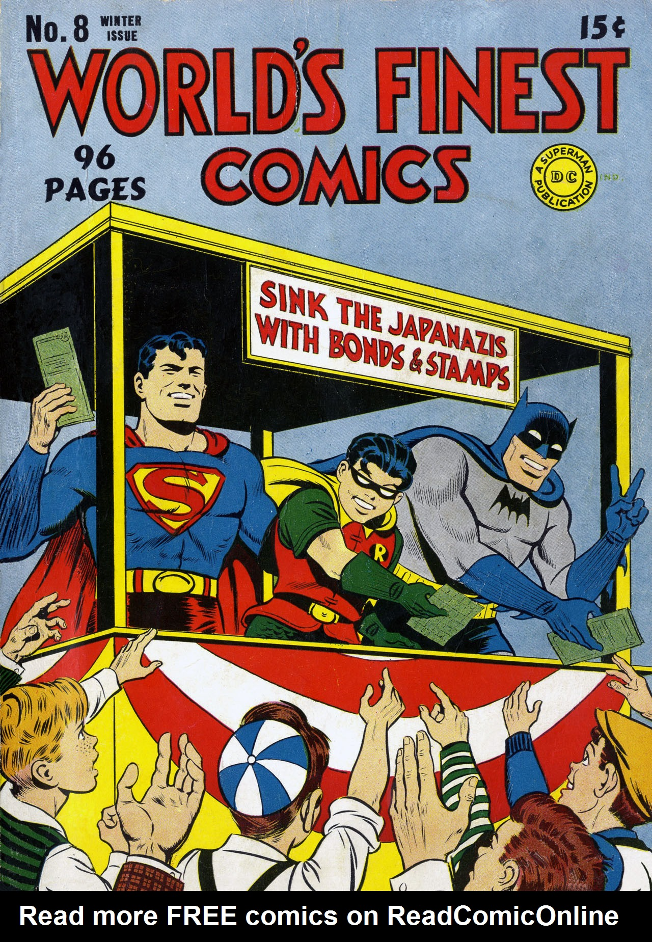Read online World's Finest Comics comic -  Issue #8 - 1