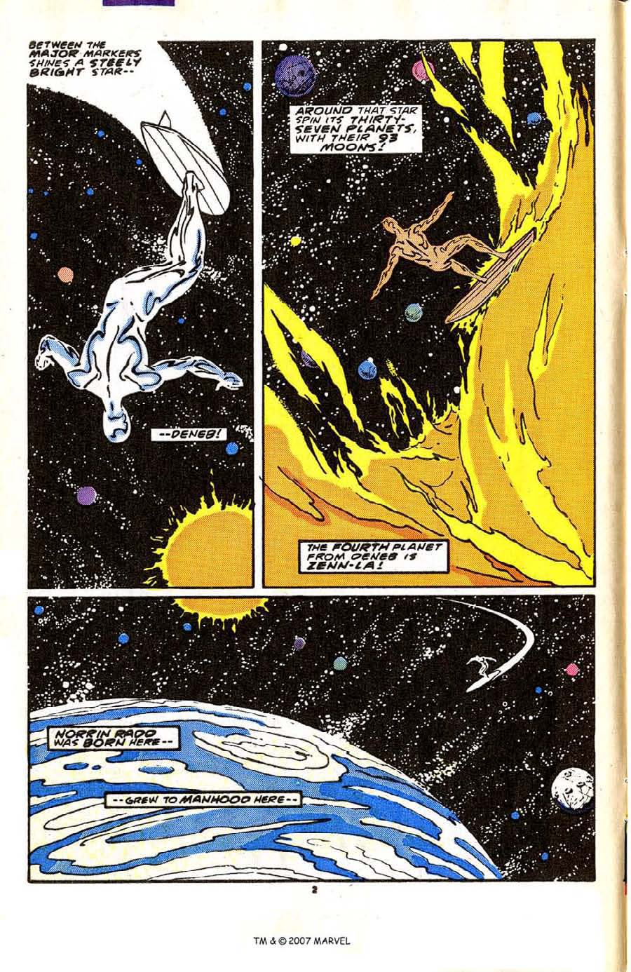 Read online Silver Surfer (1987) comic -  Issue #2 - 4
