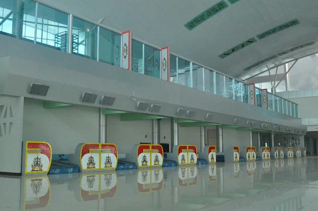 terminal baru bandara tjilik riwut palangkaraya tempat check in