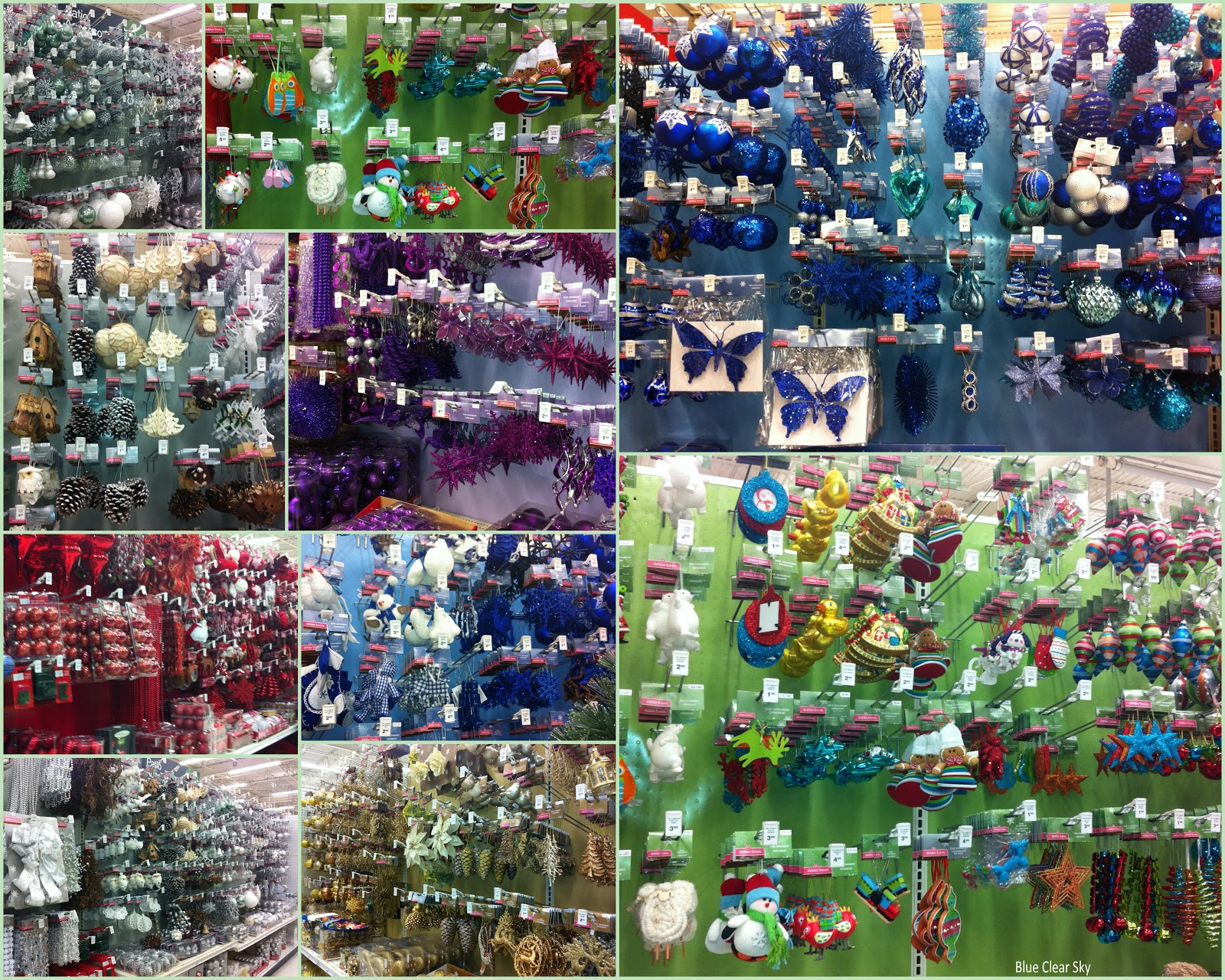Canadian Tire Christmas Decorations Rustic Maple A Rainbow Of Christmas Ornaments
