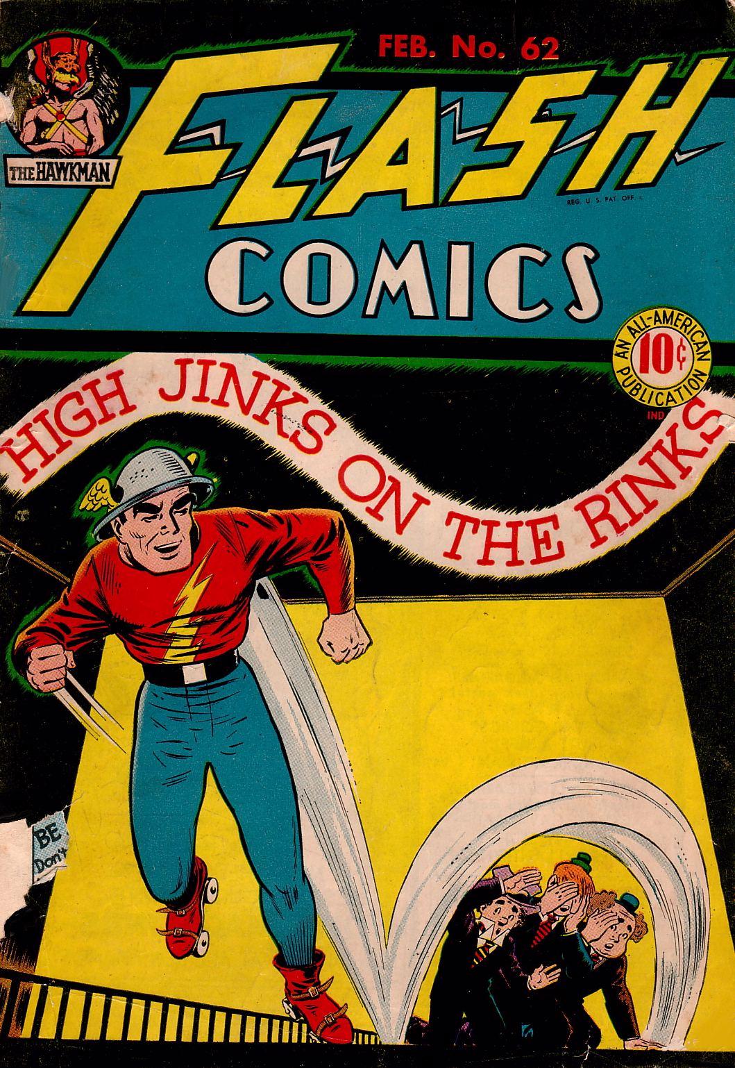 Flash Comics 62 Page 1