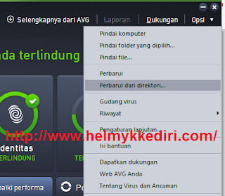 Cara Update Database AVG Secara Offline2